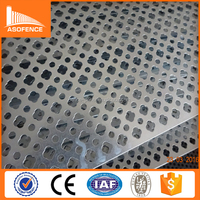 China supplier Galvonized decorative perforated metal sheet