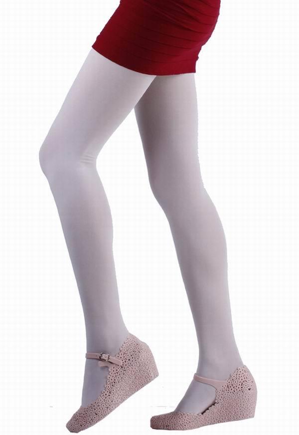 6828e0ac9a2c9 Get Quotations · 10pcs/bag Fashion Charm Cream Color Women Thin Elastic  Nylon Spandex Soft Panty Hose Tight