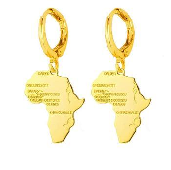 boucle d'oreille africain femme