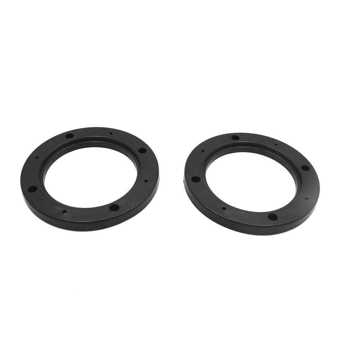 uxcell 2pcs Black 6.5 Car Stereo Audio Speaker Mounting Spacer Adaptor Rings for Honda