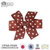 2017 New Arrival Spring Girls hair accessories ribbon bow hair clips