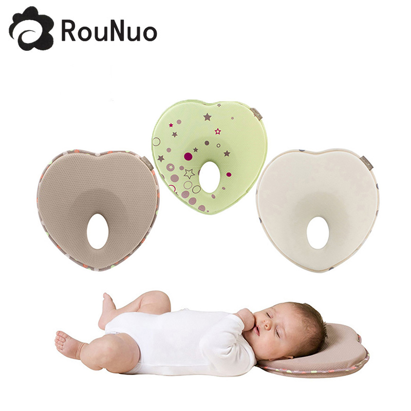 Baby Pillow by Mello Flat Head Orthopedic Cushion for Infants and Toddlers