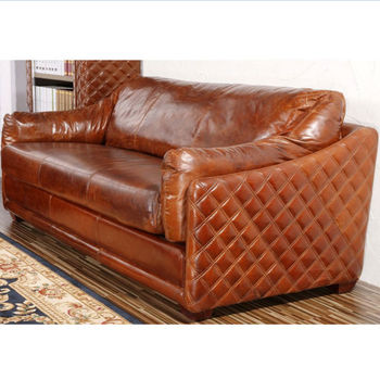 Antique Restored Vintage Leather Chesterfield Sofa Buy Vintage