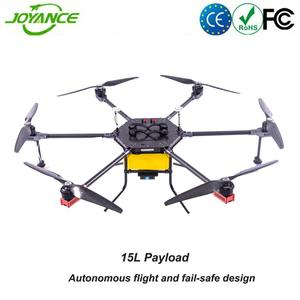 Professional crop spraying drone agriculture UAV drone sprayer with FPV