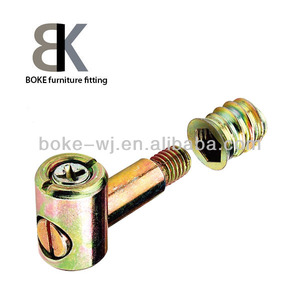 High quality hot sell furniture brass screw nut