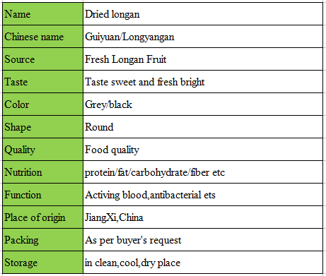 china wholesale fruit dehydrated longan natural sweet and delicious Dried fruits longan