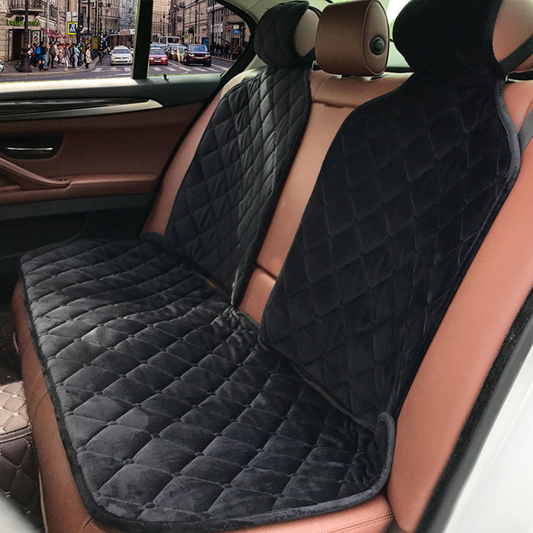 2020 rownfur new style new arriving fashionable comfortable soft non-slip 3pcs car accessories seat cover