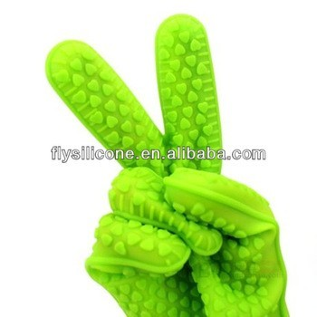 China LFGB FDA Certificated industrial silicone finger tip