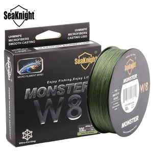 500M 8 Strands MONSTER W8 Braided Japan Fishing Line For Sea Fishing