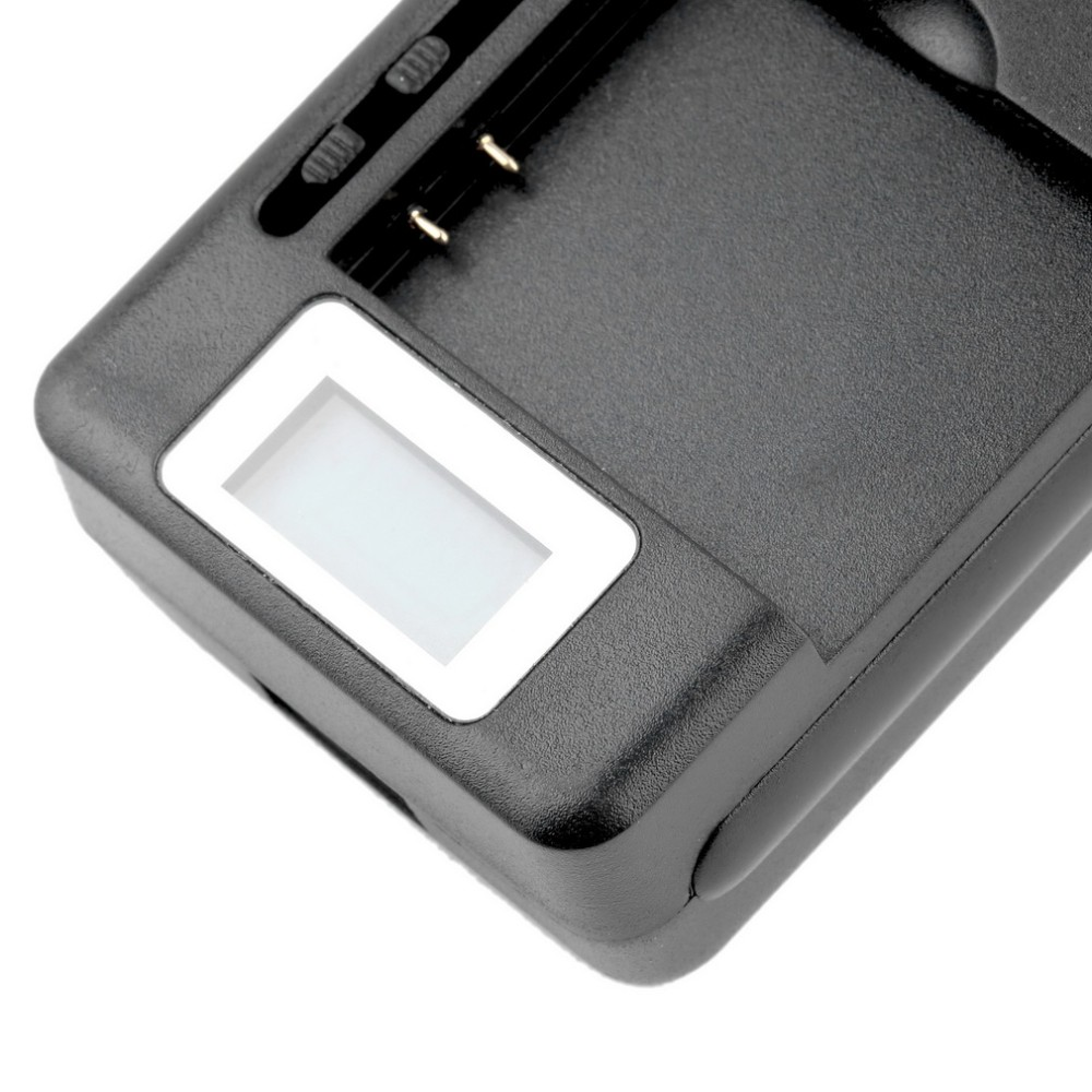 Mobile Universal Battery Charger LCD Indicator Screen For Cell Phones USB-Port