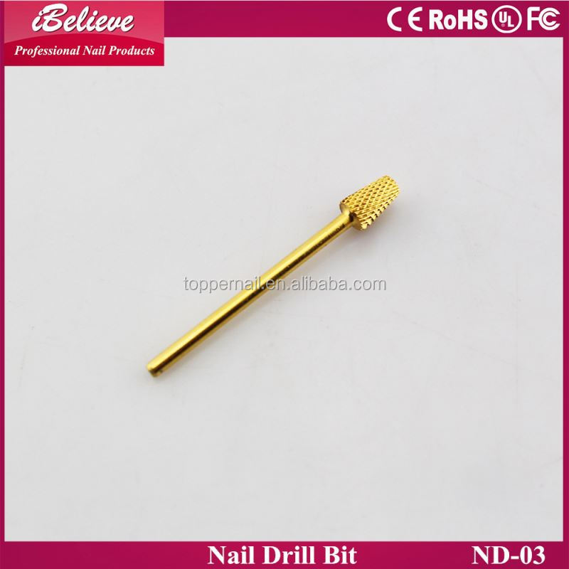 2016 hot sale tungsten beauty nail file electric drill drill bits for nail art