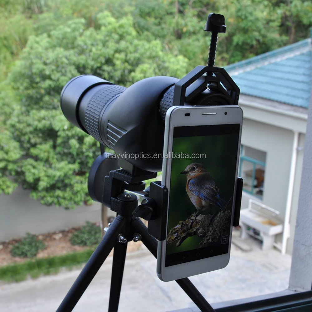 Spotting Scope Telescope and Microscope Adapter for Iphone