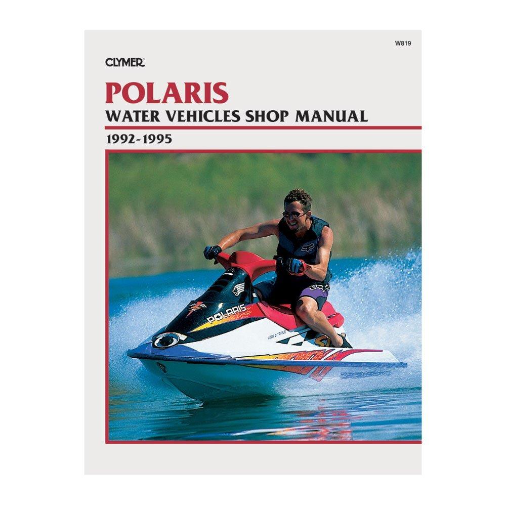 Get Quotations · Clymer Repair Manual for Polaris Watercraft PWC 92-95