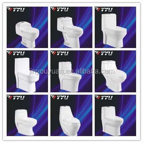 YYU saniter pabrik top quaity jongkok wc washdown keramik siphonic one piece toilet Y8028