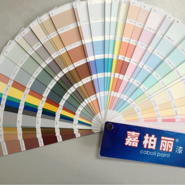 Caboli Wall Paint Color Chart In