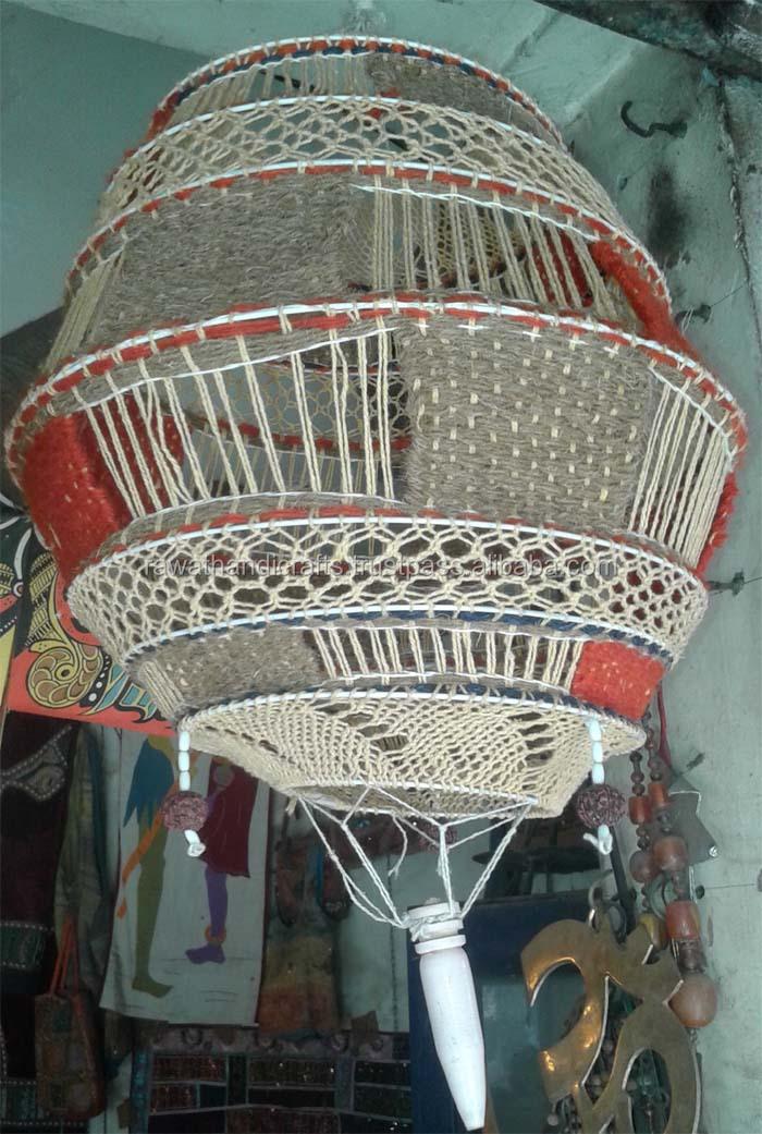 Crosia Work Lamp Shade Crochet A Lampshade