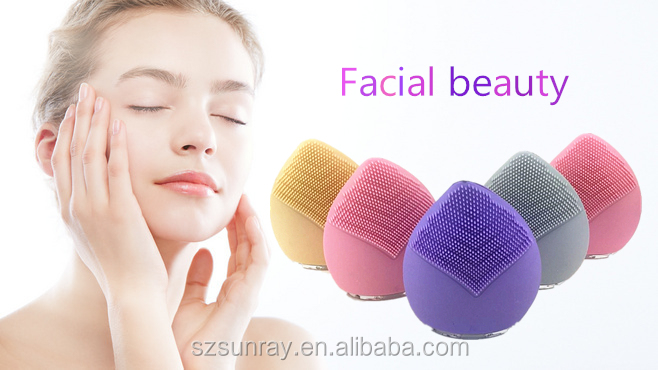 Private label beauty accessories blackhead remover silicone facial cleanser face cleansing brush