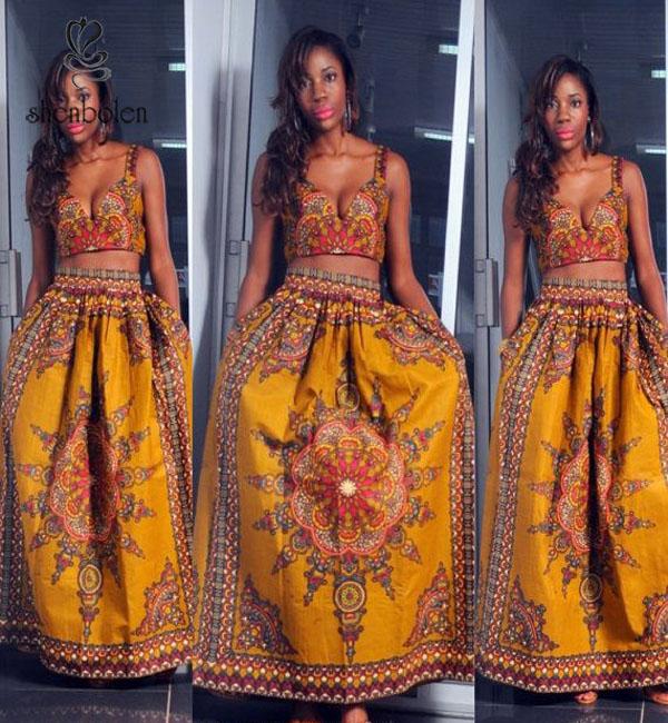 M40786 Beautiful African Fashion New Design Sleeveless ...
