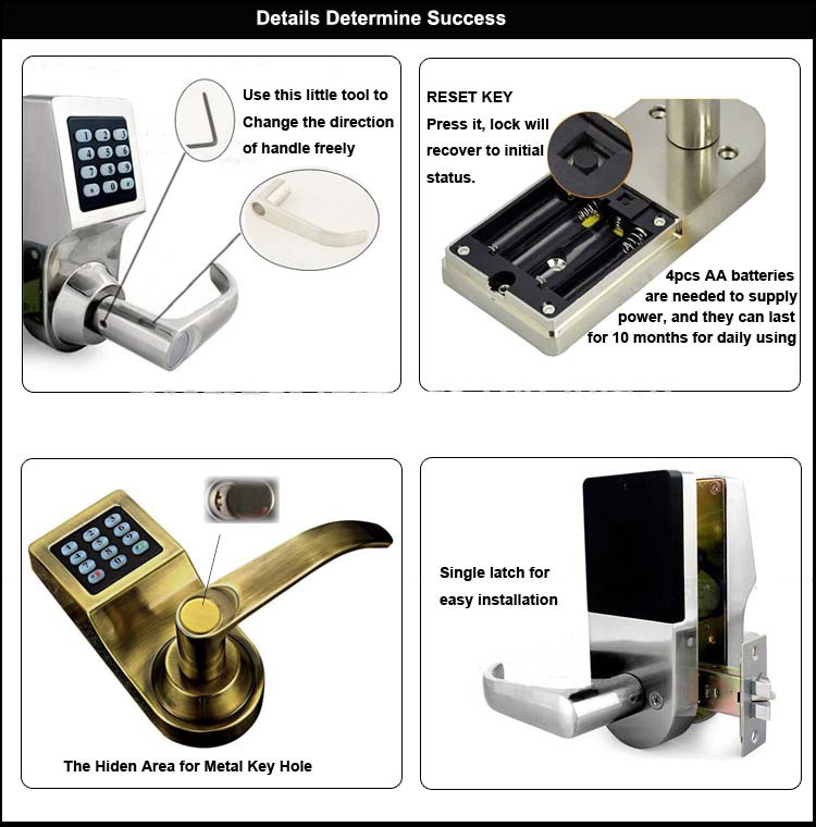 Low Price Remote Control Security Safe Remote Sliding Door