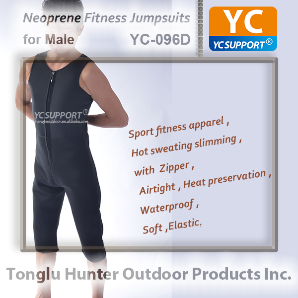 Custom full body shaper sport slimming bodysuit men jumpsuits fitness