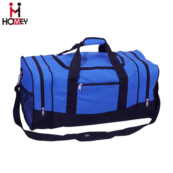 ... huge inventory 9bbfa 34b51 Affordable Awesome Athletic Gym Bags Blue  Sports Duffer Bag ... 9fe1a7a152