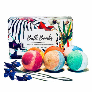 Wholesale Colorful Bubble Natural Organic Fizzy Bath Bombs