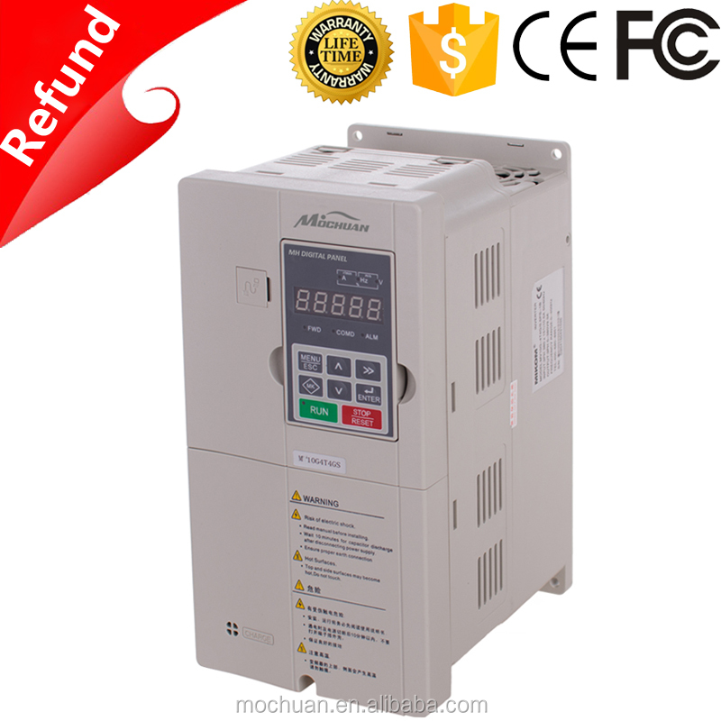 Shipping online multiple input 15kw 48v dc 400v ac inverter/converter/vfd 3 phase 50/60hz from China