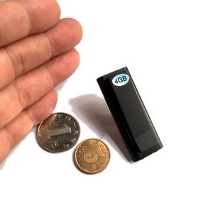Hot Mini Clip USB Pen 8GB Voice Activated Digital Audio Voice Recorder Mp3 50hours Recording (DW-Q50)