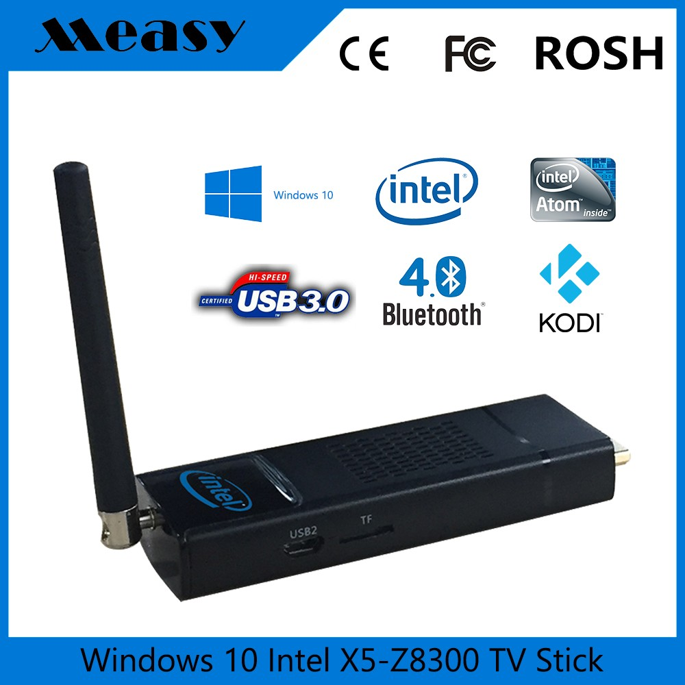 Intel Z8300 Windows 10 OS <strong>TV</strong> <strong>Stick</strong> EW10 Magic <strong>dongle</strong> Internet <strong>TV</strong>
