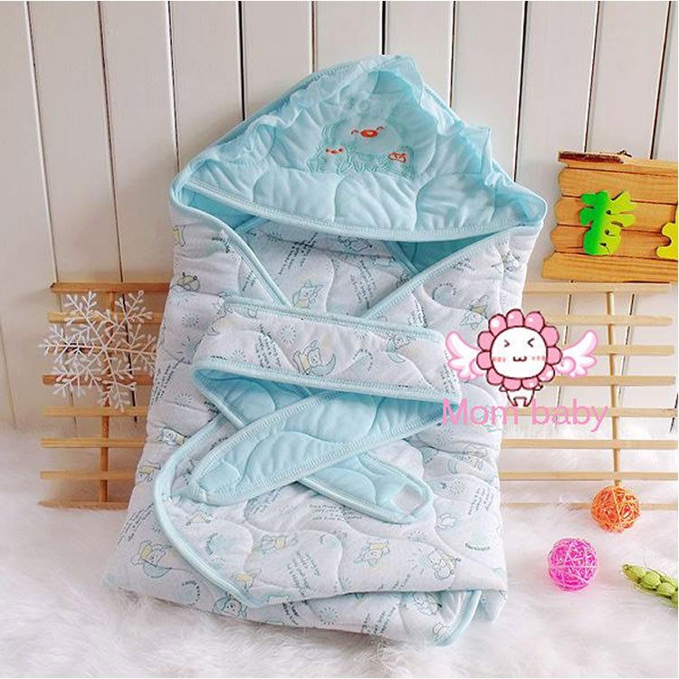 Питания чистый хлопок младенческой одеяло весна зима осень детские спальные мешки младенцы одеяло