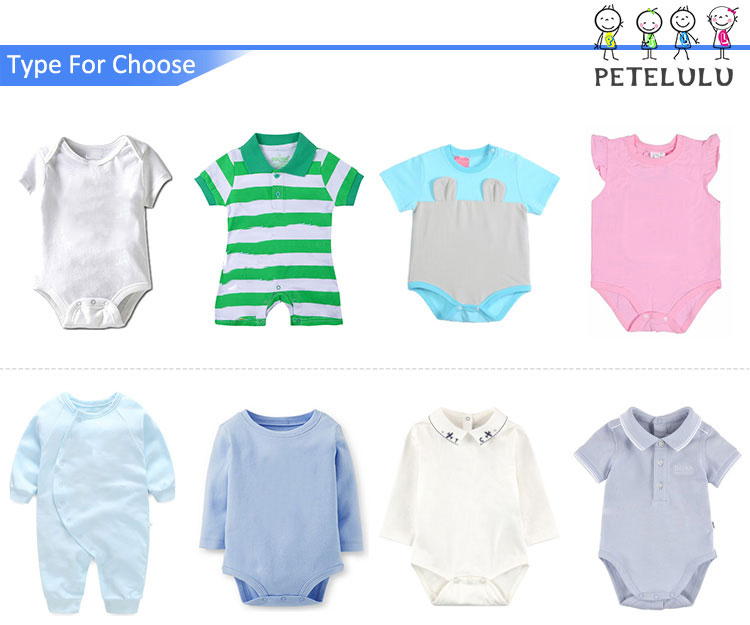 Branded Newborn Baby Clothes Classical Design Knitted Cotton Baby