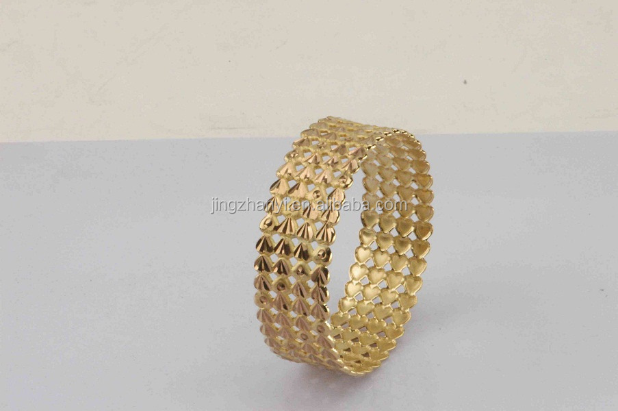 Fashion Jewelry Bangles Made In China Wholesale Brass Gold Plated ...