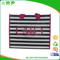 2016 New style pink eco lovely bamboo shopping bag