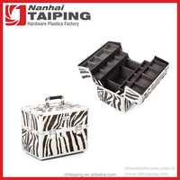 Zebra Dog Cat Pet Hair Beauty Case Show Travel Case Grooming Tools Storage Case