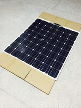 China 150W 18V 28V High Efficiency Monocrystalline Flexible Solar Panel
