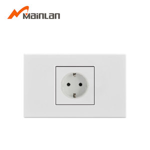 16A Germany socket outlet, universal electric wall socket