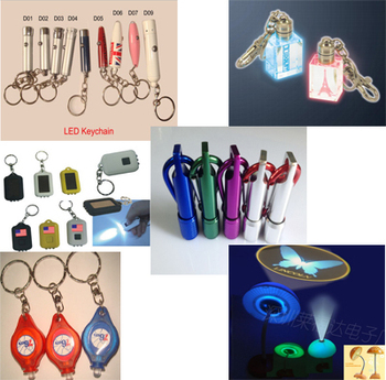 Custom led LOGO keychain 3D laser engraving logo souvenir promotion Gift Torch Flashlight