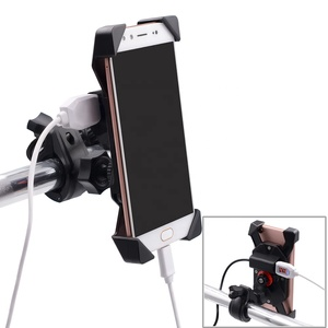 2018 hot sale 360 degree rotation 3.5-6 inches mobile phone holder for bike handlebar bicycle cell phone mounting bracket