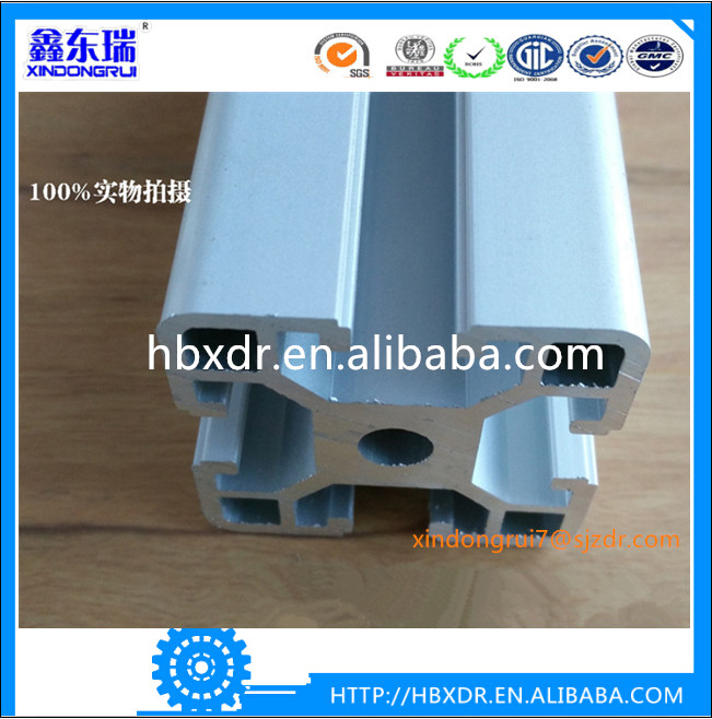 Widely used matte anodized industrial aluminum profile for assembly line