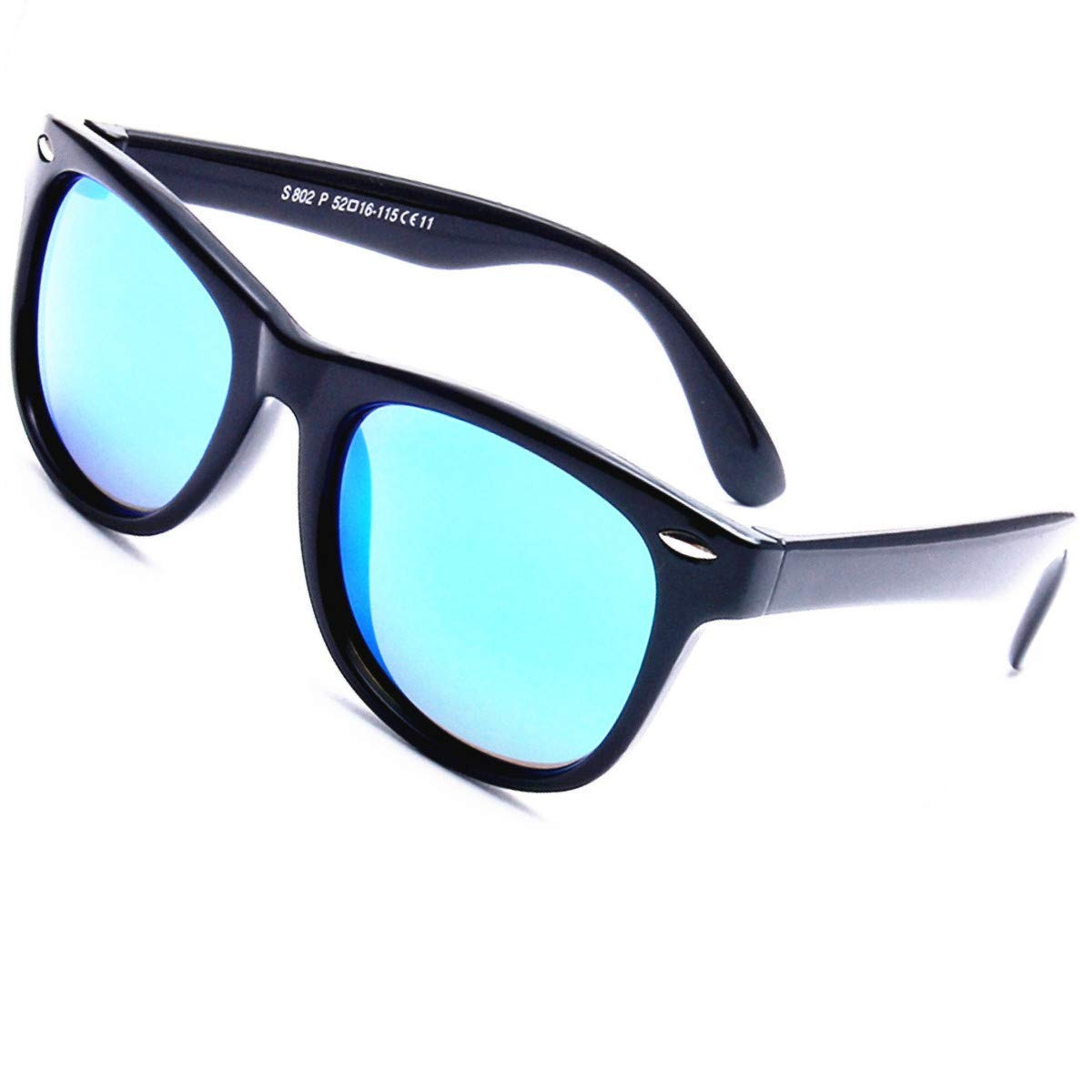 baceafe0fb Get Quotations · Kids Sunglasses For Kids Polarized Sunglasses Girls  Children Youth Boys Age 3-10 Mirrored Lens