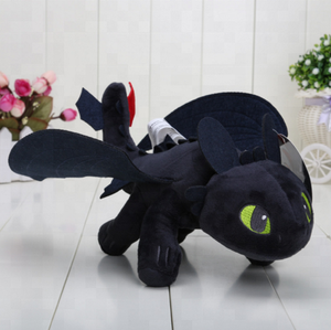 DRAGON PLUSH Toothless Night Fury plush Toys for children doll