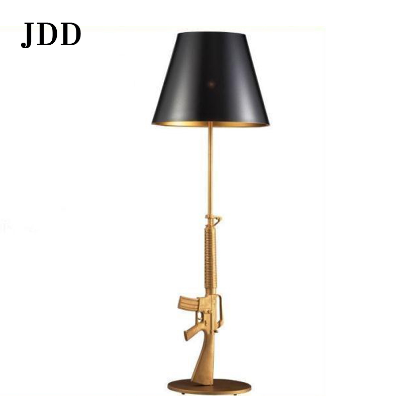Hot sale home and hotel modern special bottom firearms floor lamp