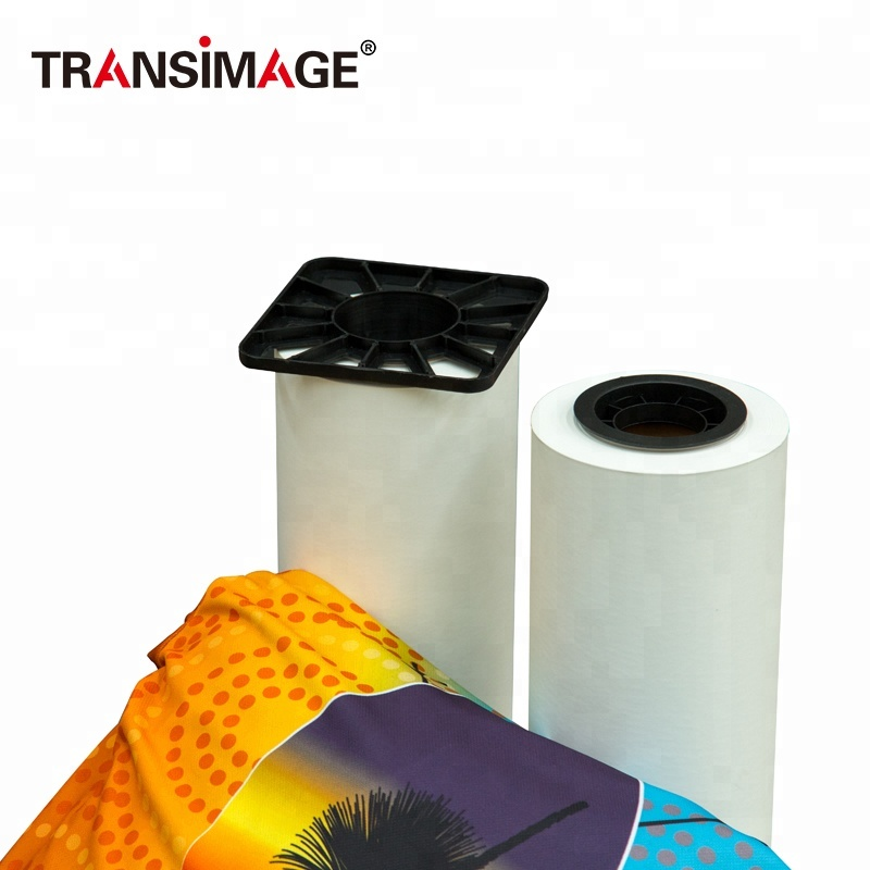 China keramik aufkleber adhesive transfer flock transfer band hersteller 100g medium semi klebrige sublimation papier