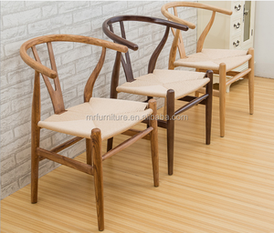 Wishbone Y Stylish Paper Cord Natural Walnut Beech Ash Side Wood Chair