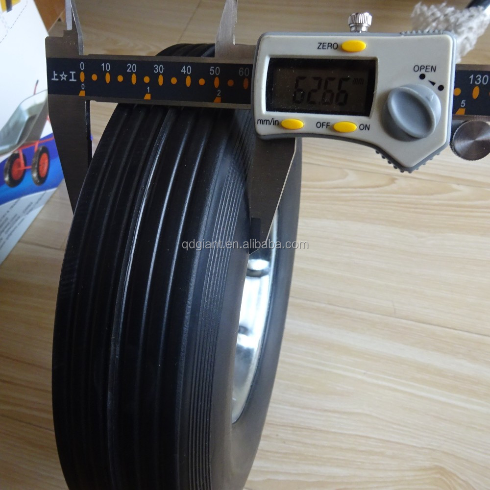 10inch chinese wholesale tyres solid rubber trolley wheels