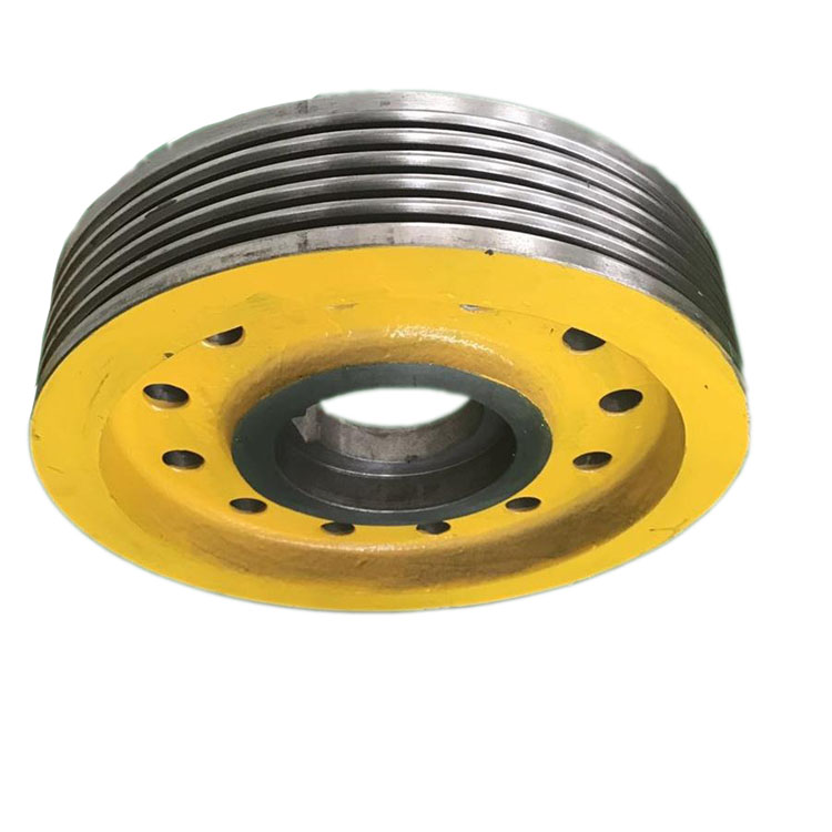 High quality elevator wheel and traction sheave of xizi elevator spare parts