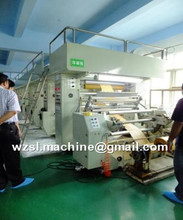 high speed multi colour computer gravure printing machine
