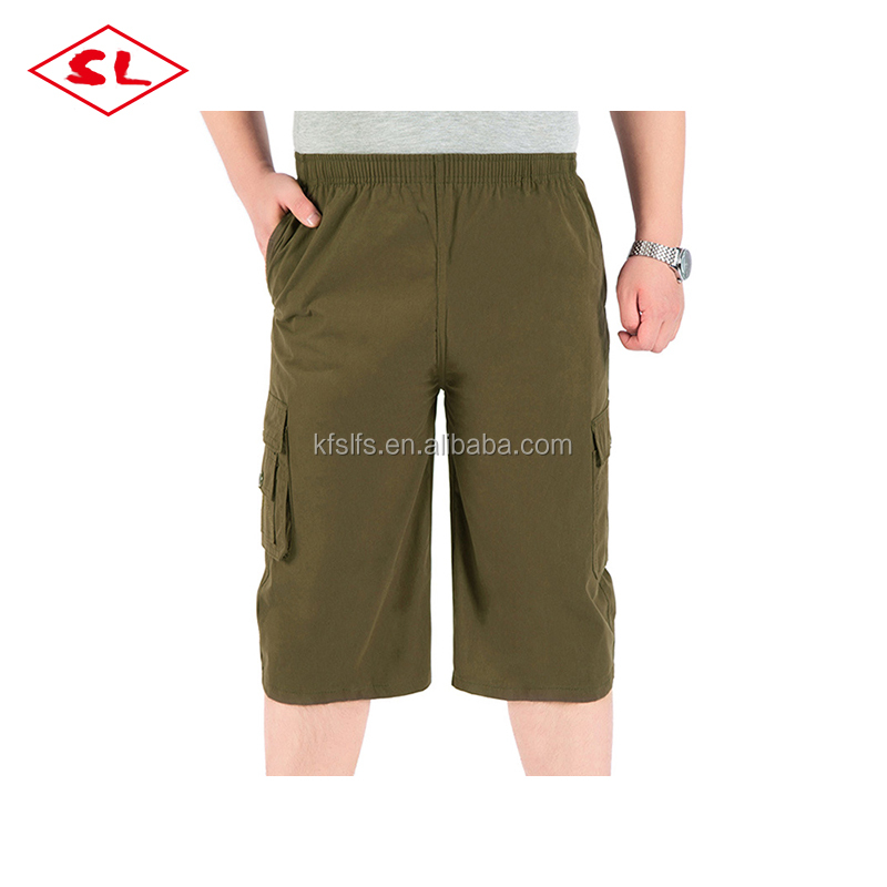 loose old men cargo shorts breathable cargo shorts