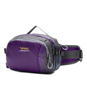 folding big bottle brand fashion elegant canvas cycling custom fanny pack waist running belt bag