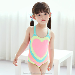 5aa4539ae1 1-8 Years Old Infantil Girls Swimsuit One Piece Bathing Suit Kids Swimwear  2018 Toddler